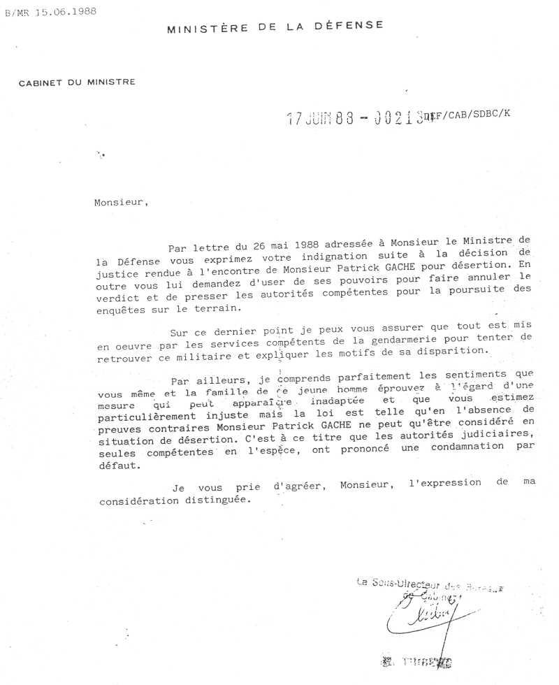civil pour le ministère de la défense