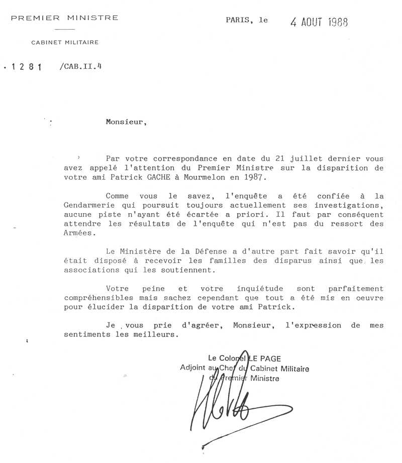 lettre de demande de parrainage au ministre pdf
